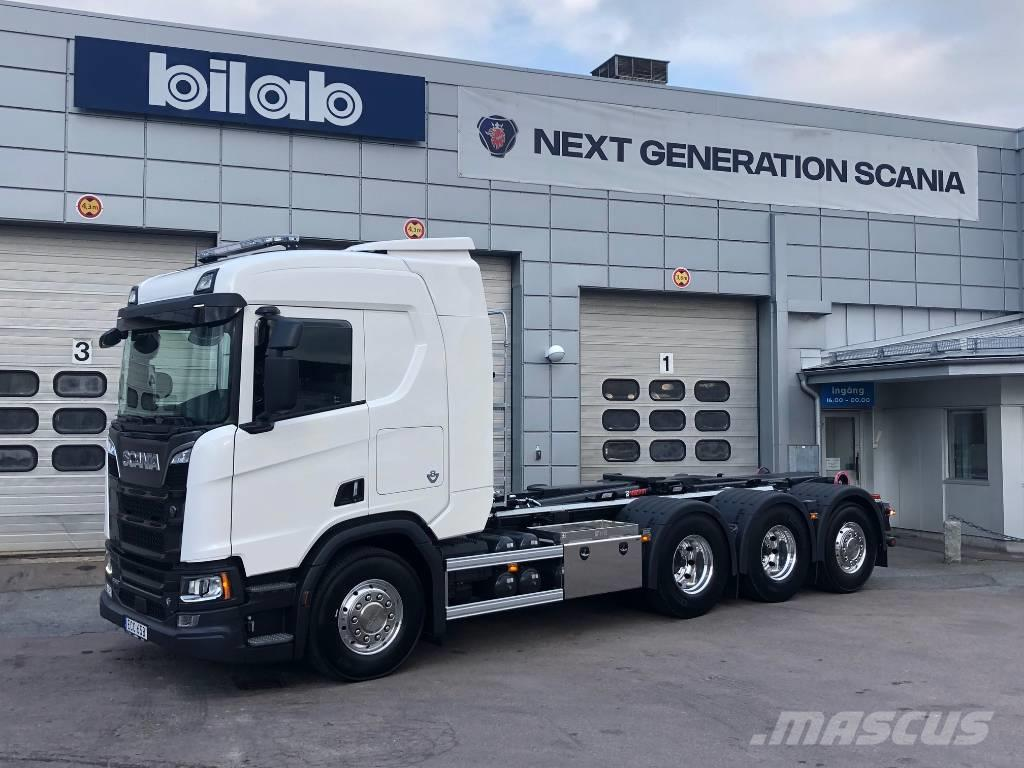 Scania R 580 8x4*4 Hiab Lastväxlare