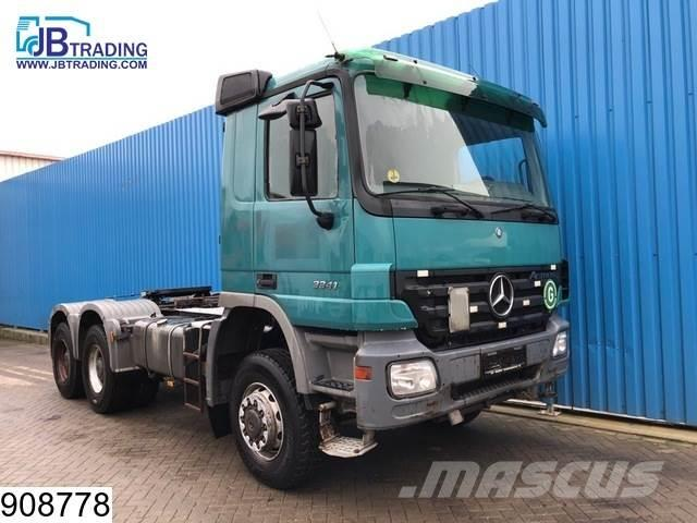 Mercedes-Benz Actros 3341 6x6, EPS 16,Steel suspension, 13 Tons