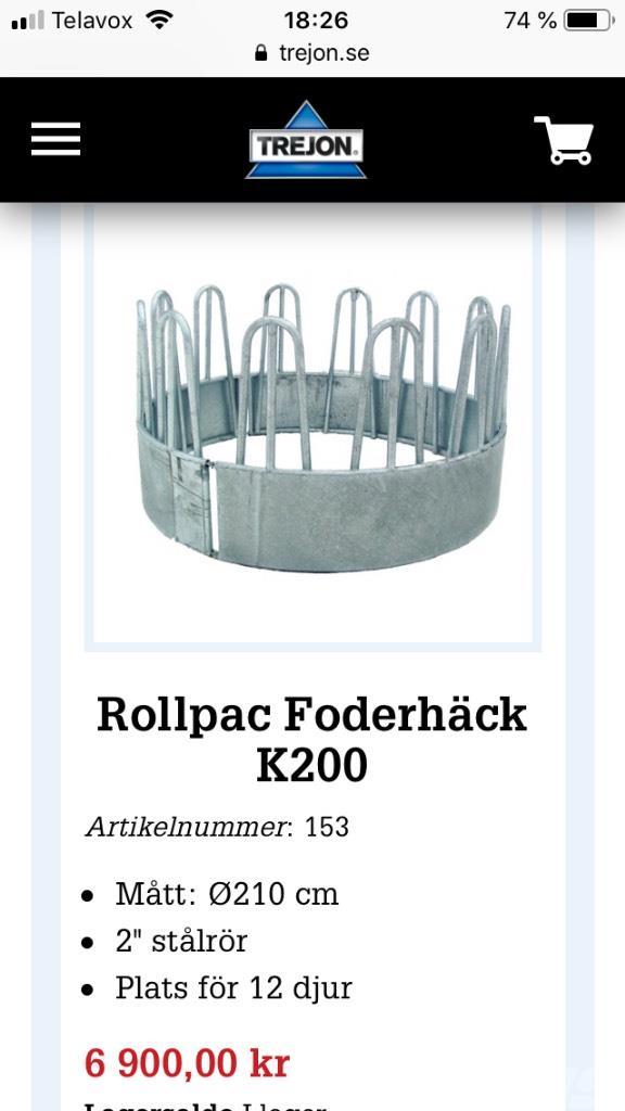 [Other] Foderhäck K200