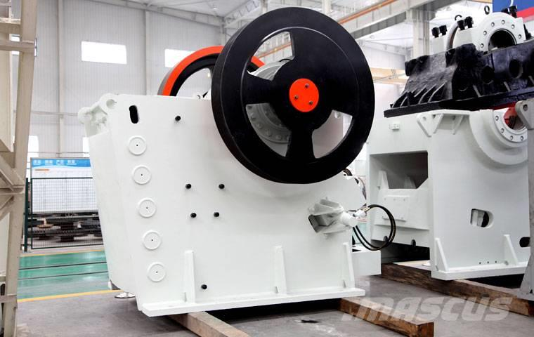 Liming 80t/h Limestone jaw crusher plant