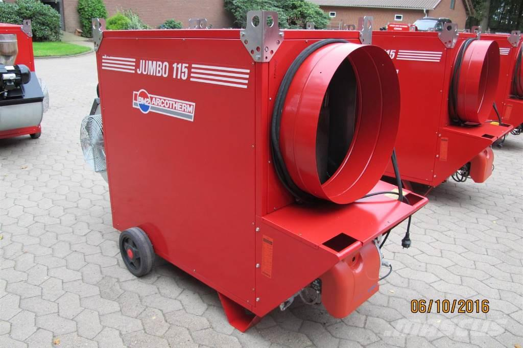 Biemmedue Zeltheizung Hallenheizung Jumbo 115 MC 133 KW Bauh