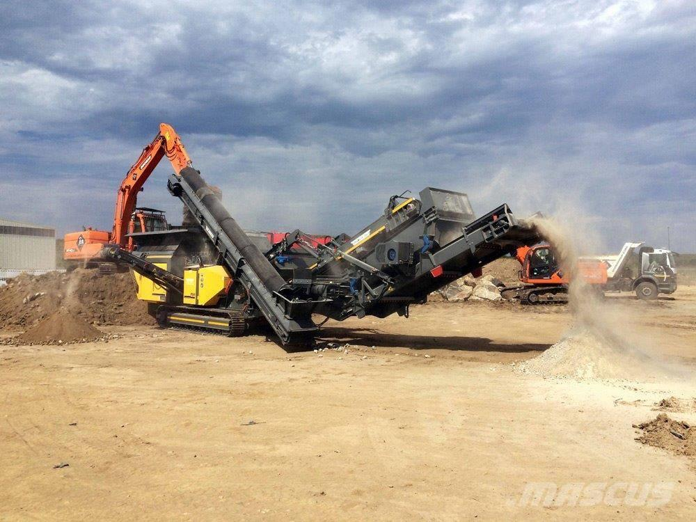 Fabo Tracked İmpact Mobile Crusher