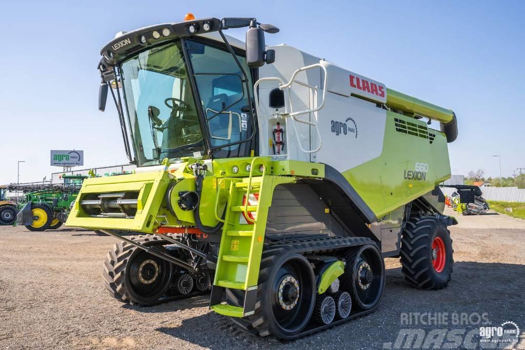 CLAAS Lexion 660TT APS (382/508 hours)