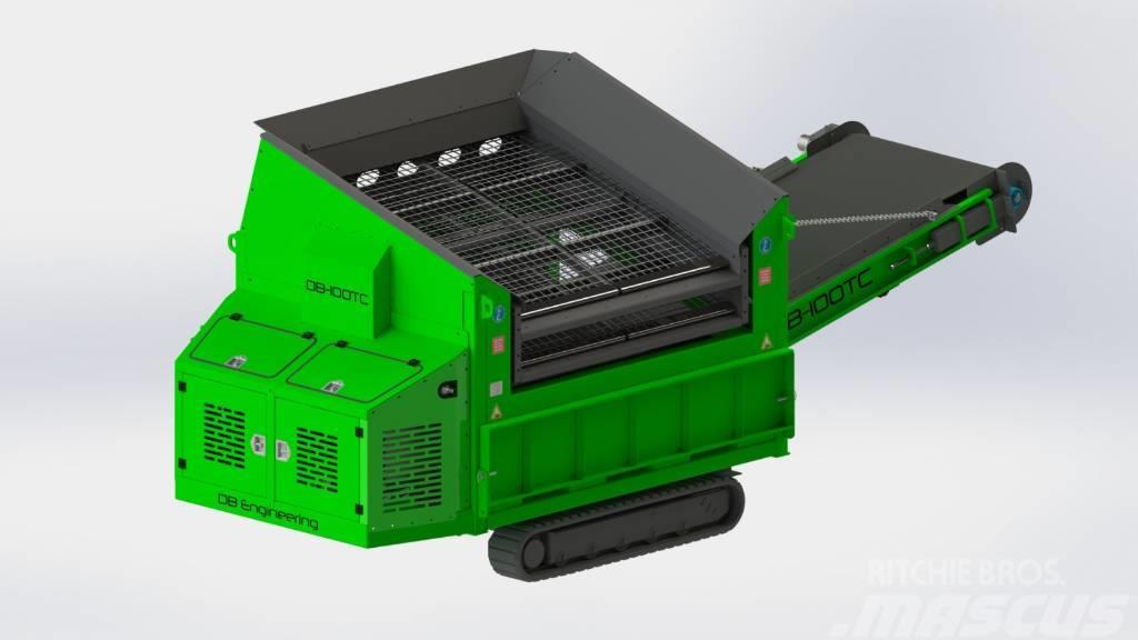 DB Engineering DB-100TC Siebanlage | Flachdecksieb | Siebbox