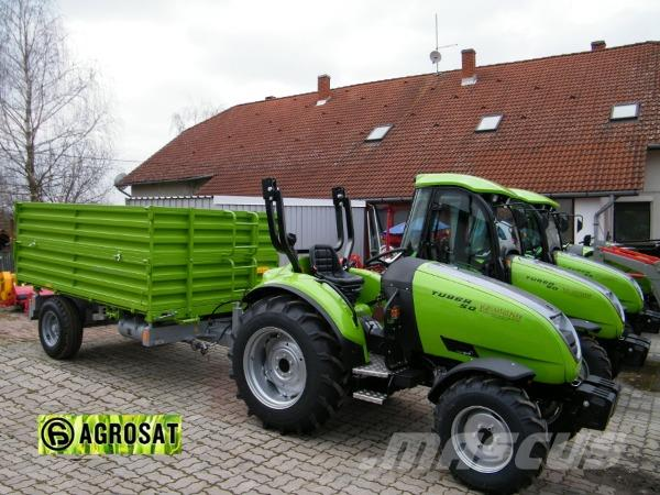 Tuber 40 PS tractor Agrosat Ungarn