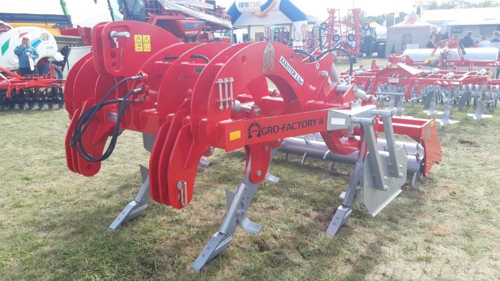 Agro-Factory Karsten 2,5m subsoiler / chisel plow + pin roller