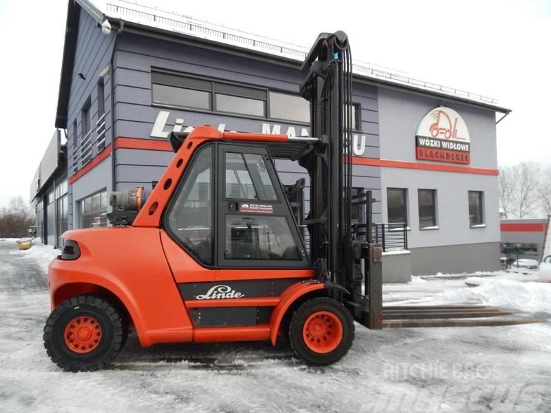 Linde H80T/900 Multi-pallet handler 8T 5.2M