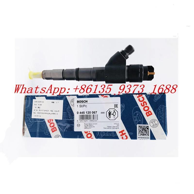 Volvo Ec210 Excavator  Fuel Injector 04290986 0445120066