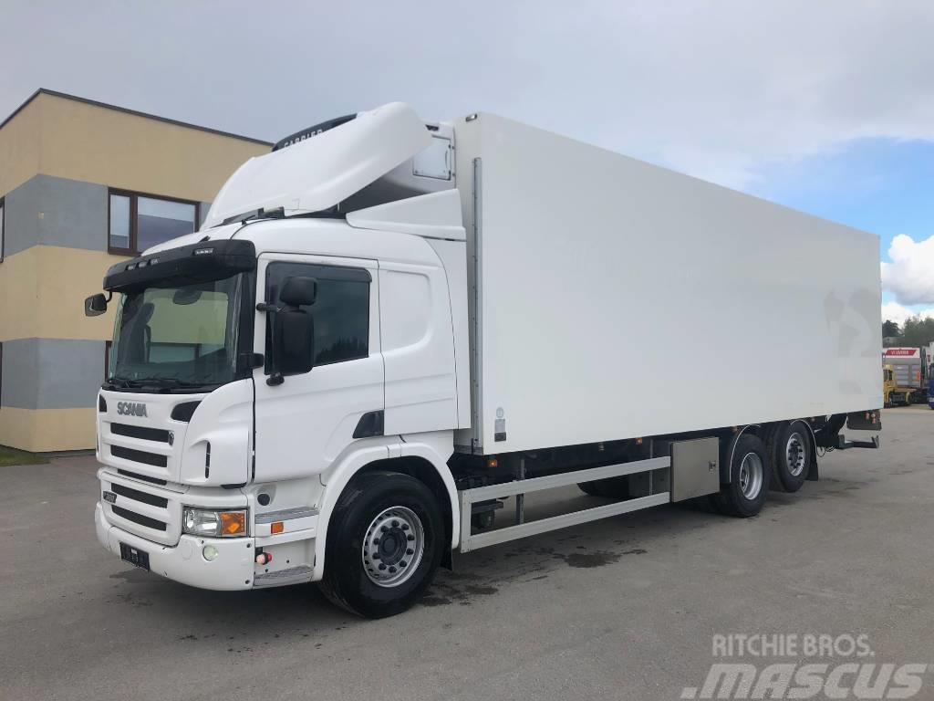 Scania P360 6x2 EURO5+FULL AIR+OPTICRUISE