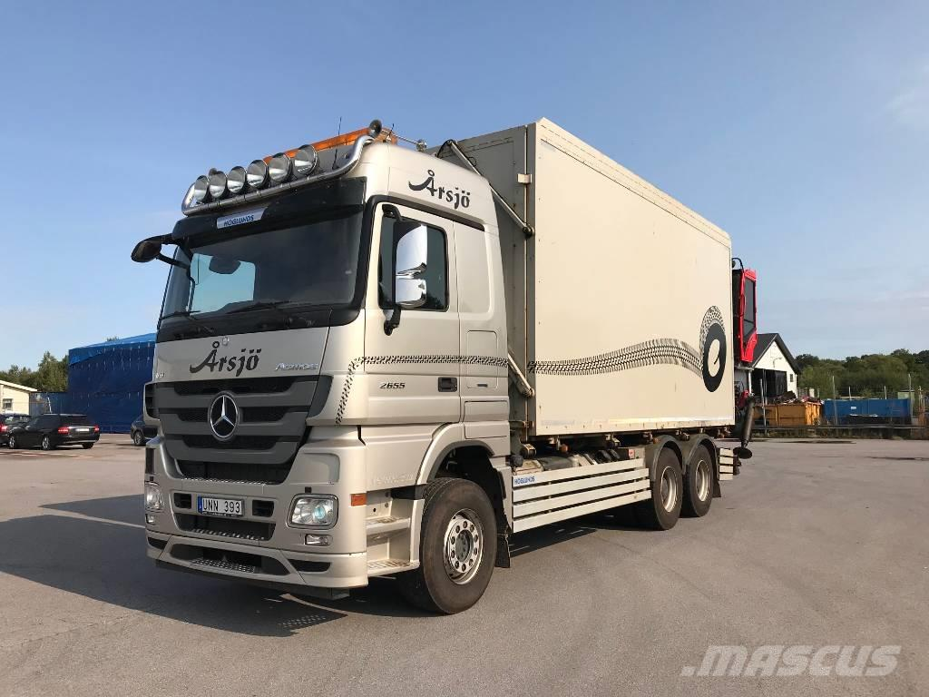 Mercedes-Benz Actros 2655, 2014, Wood Chippers ...