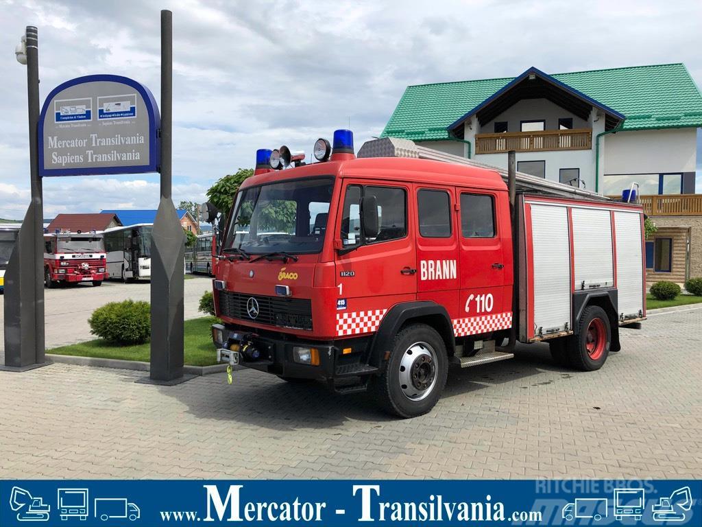 Mercedes-Benz 1120 |  Masina de pompieri |