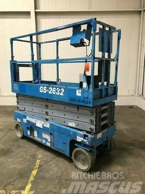 Genie GS 2632 10 m electric scissor lift skyjack-liftlux
