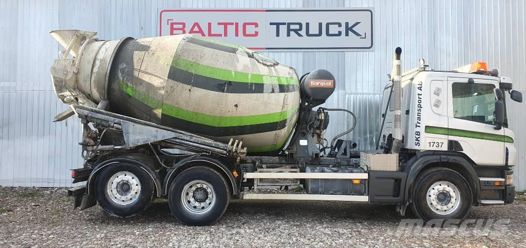 Scania P 360 + 9m HYDRAULIC PIPE