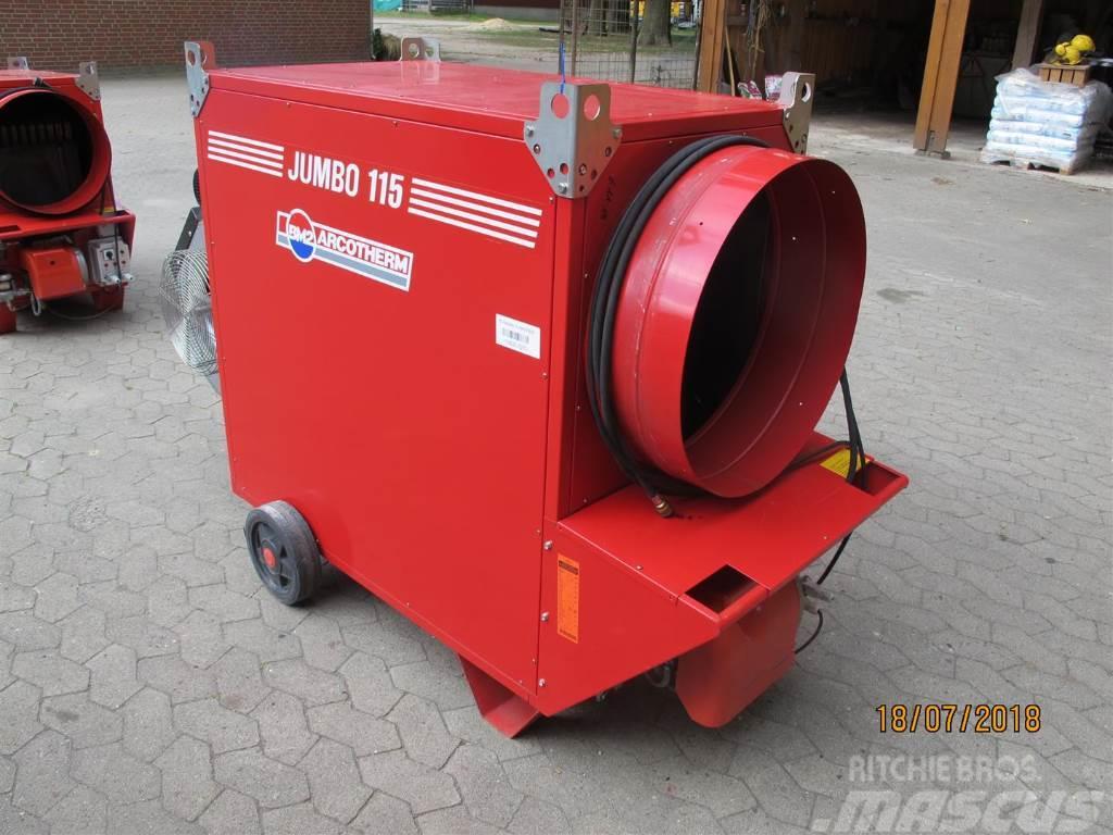 Biemmedue Zeltheizung Hallenheizung Jumbo 115 MC 133 KW Warm
