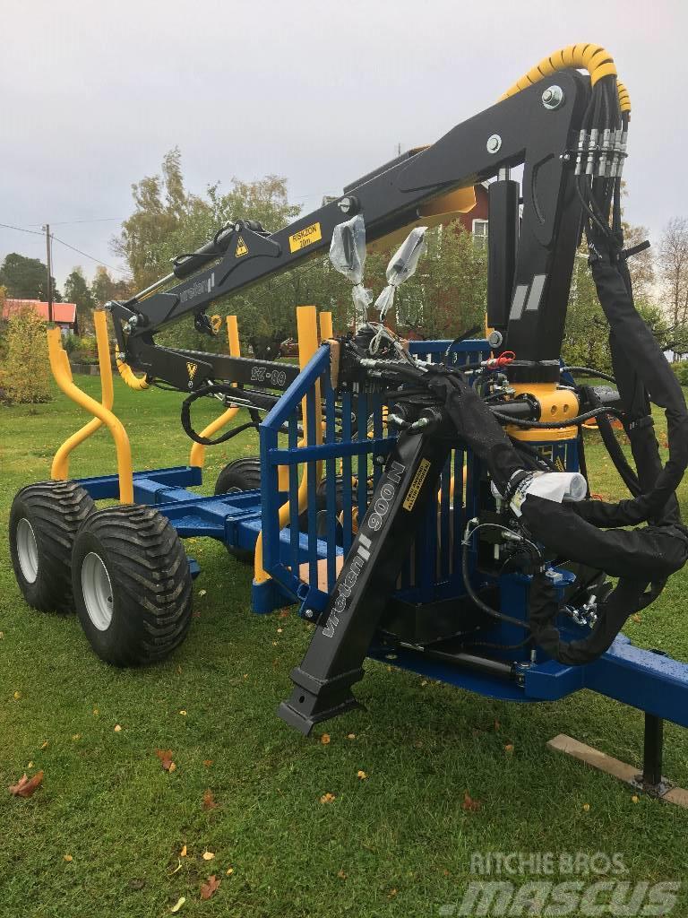 Vreten skogsvagn 9 ton