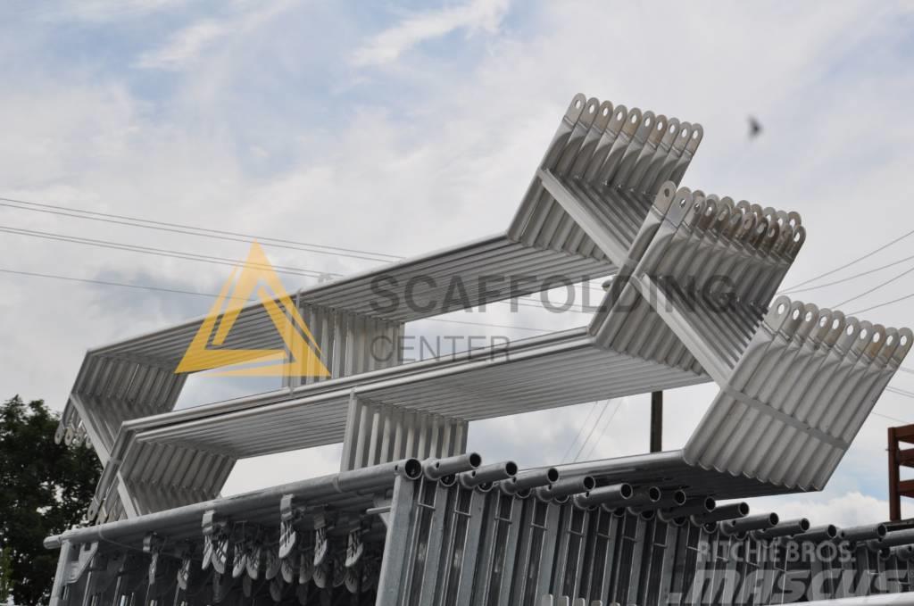 [Other] Scaffolding Gerüst 300qm ALUMINIUM T.Plettac NEU S