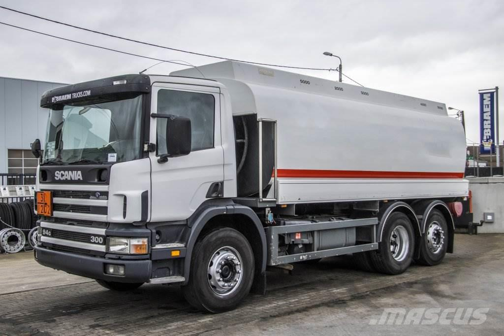 Scania 94.300 + STOKOTA 19000 L (5COMP.)