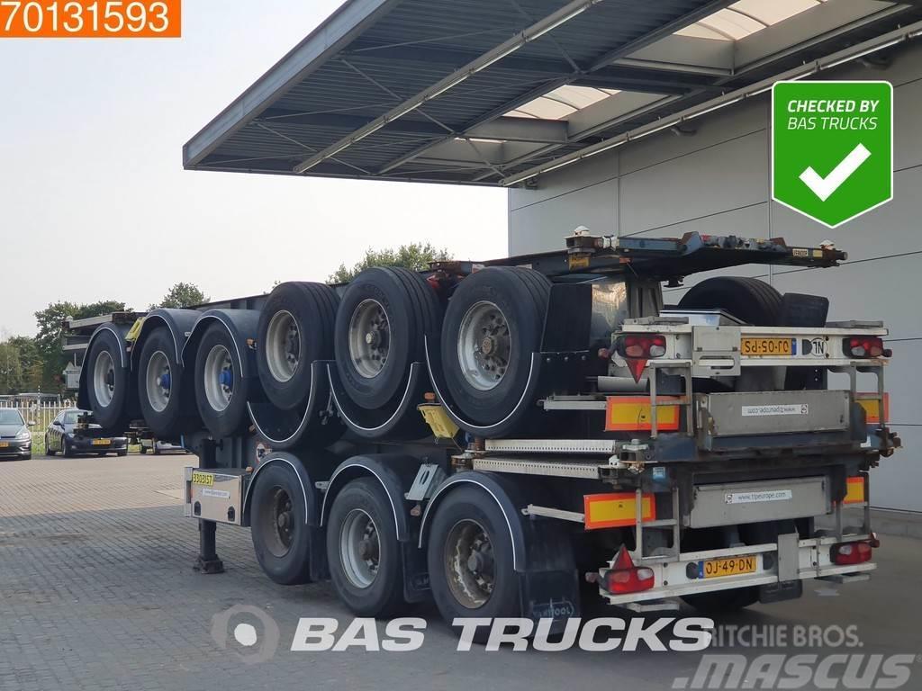 Van Hool 3 axles ADR 1x 20 ft 1x30 ft Liftachse