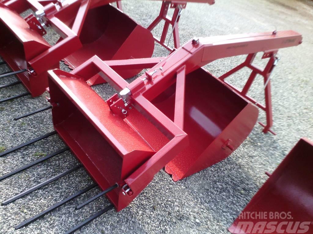 Megas Naletni utovarivač za stajski đubar L800 - manure