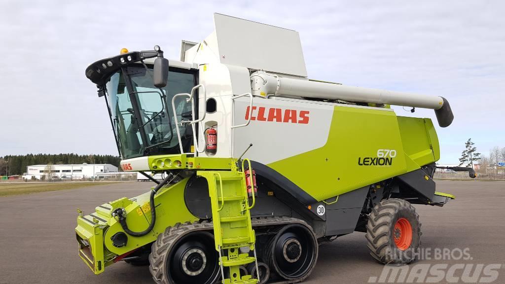 CLAAS Lexion 670 TT 4WD