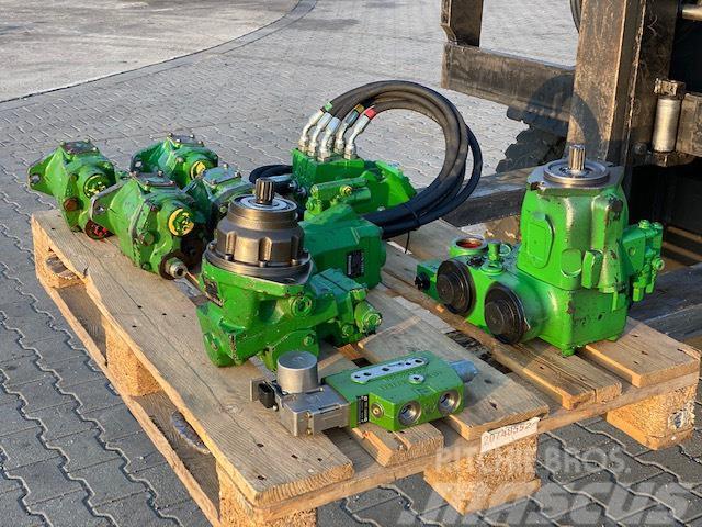 John Deere pompa hydrauliczna komplet 9 szt
