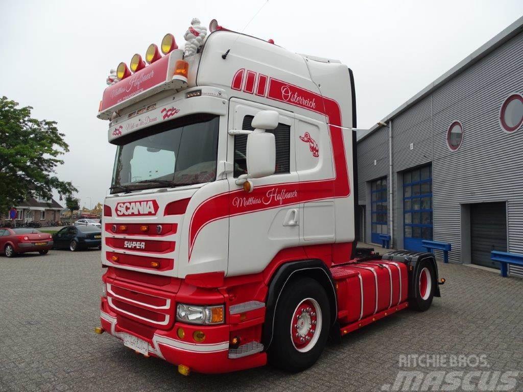 Scania R450 / AUTOMATIC / TOPLINE / 4X2 / SHOWTRUCK / EUR
