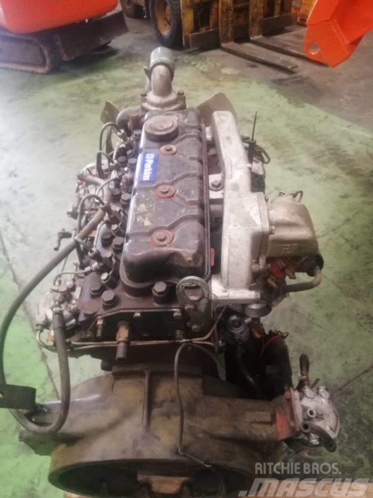 Perkins 4 cilindros turbos para maquina mixta