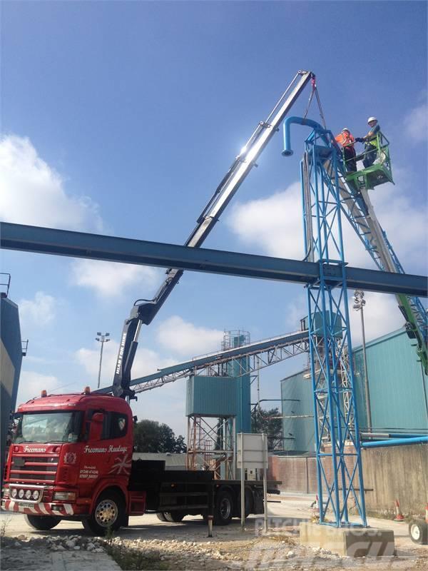 Scania Palfinger Hydraulic Crane Lorry