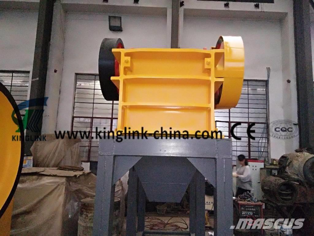 Kinglink Diesel Jaw Crusher PE-250x750 for Stone Crushing
