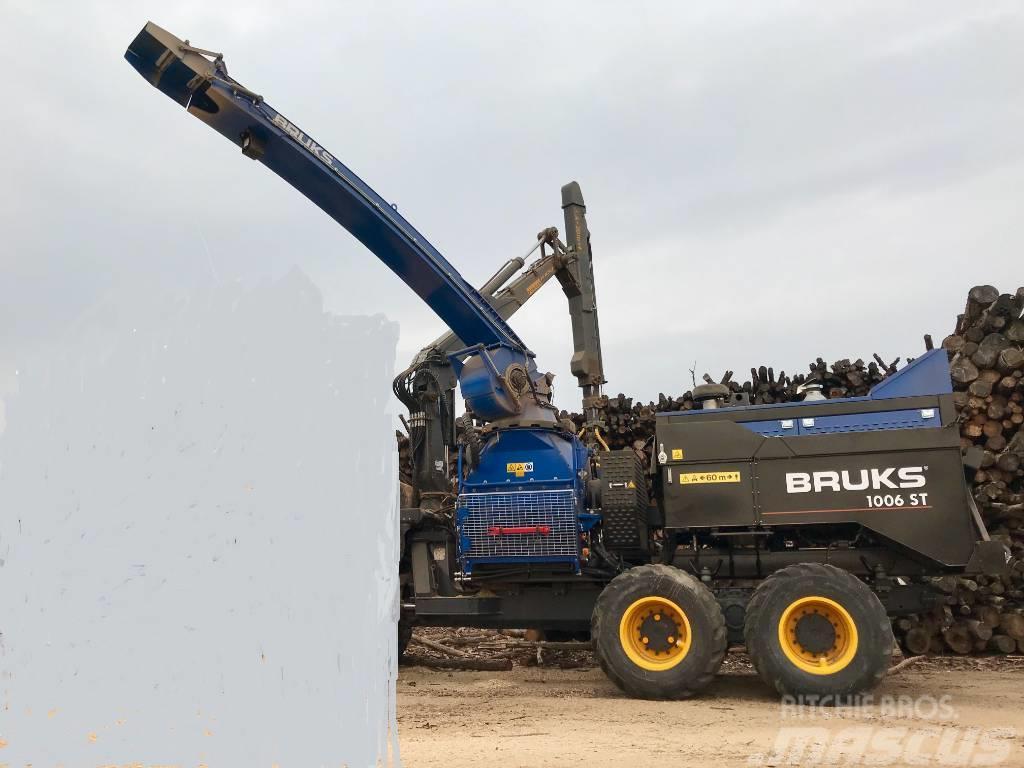 Bruks 1006 ST chipper unit