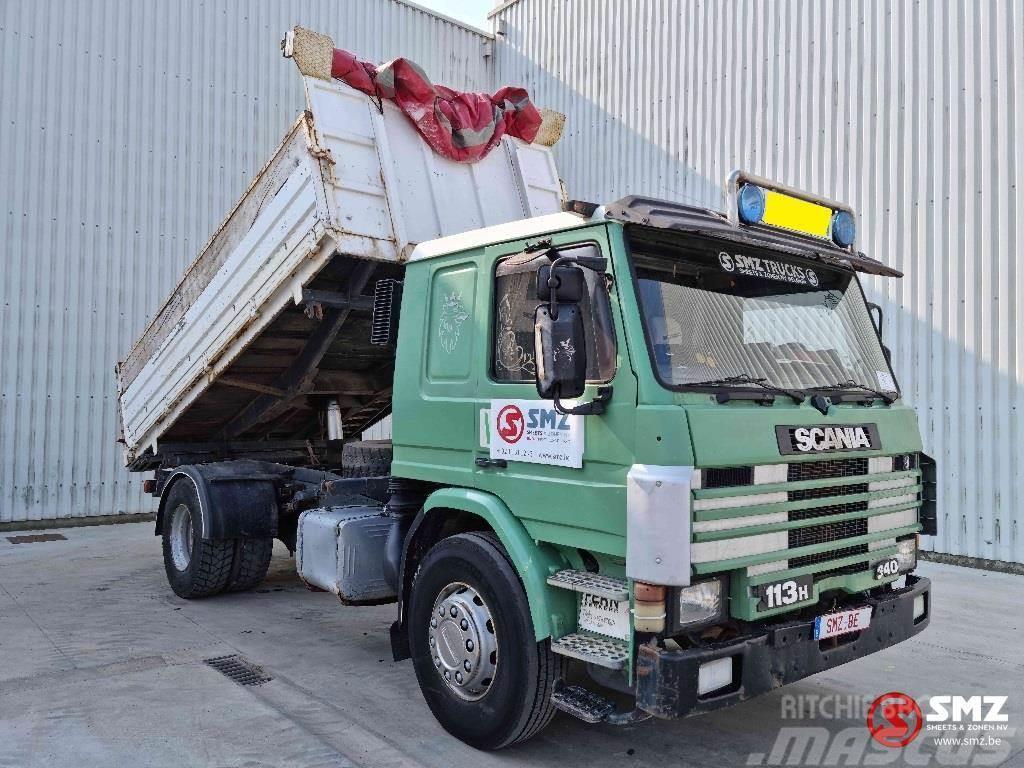Scania P 113 lames steel