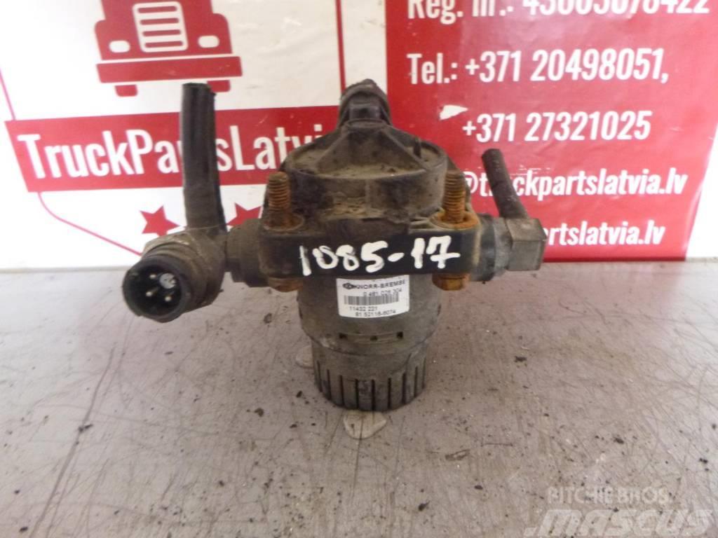 MAN TGX Accelerator valve 81.52116.6074
