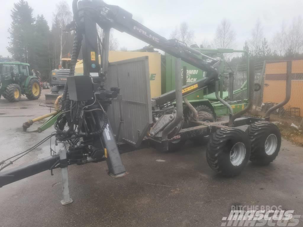 Palmse Skogsvagn 8S+640 Vinch