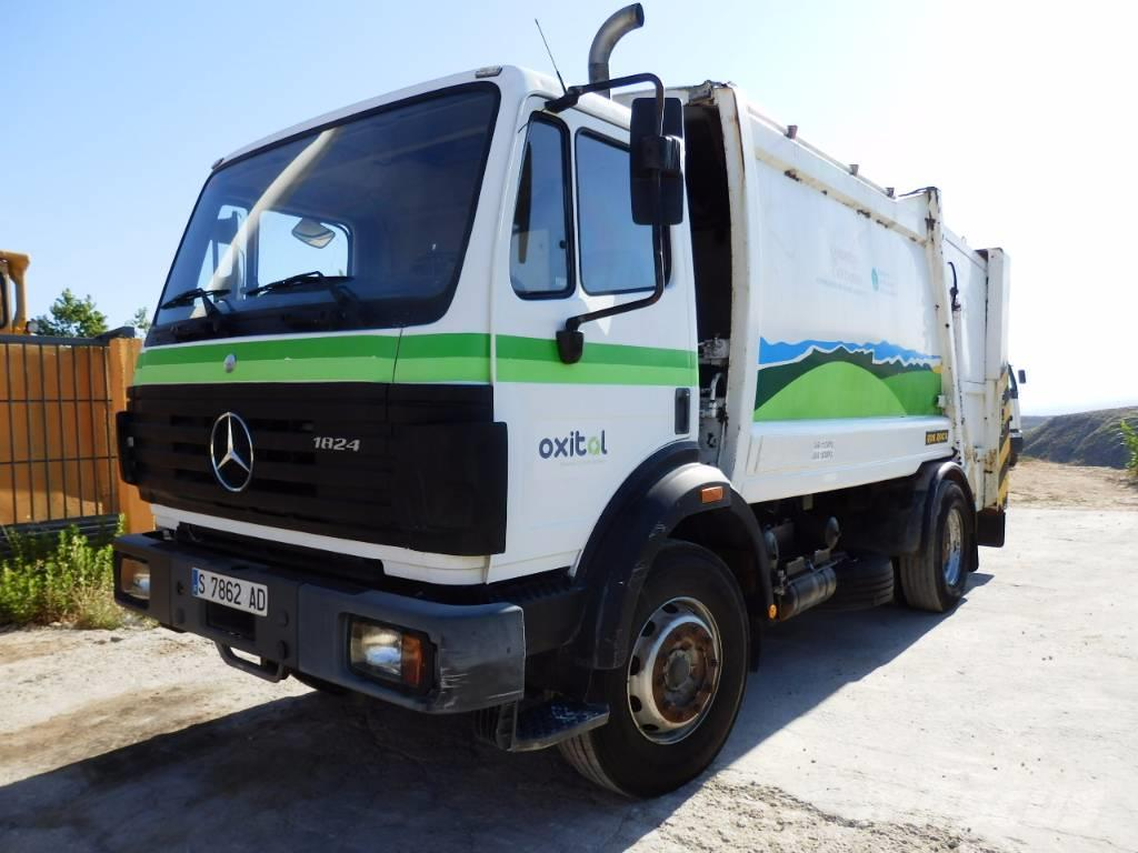 used mercedes benz sk 1824 garbage trucks recycling trucks year 1995 price 21 166 for sale. Black Bedroom Furniture Sets. Home Design Ideas