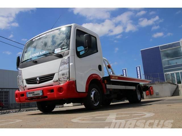 Renault MAXITY + Plateau JIGE COULISANT + TREUIL(5t)