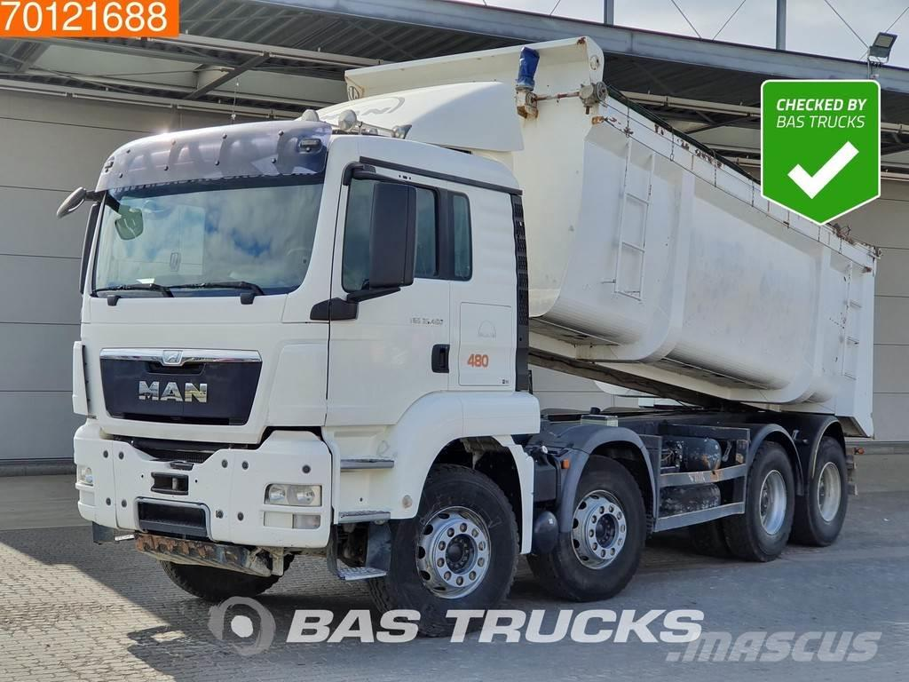 MAN TGS 35.480 8X4 Manual Intarder Big-Axle SteelSuspe