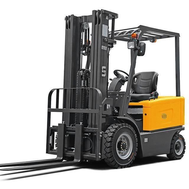 UN Forklift FB35 3.5Ton 4-Wheel Electric Forklift Li-ion Batte