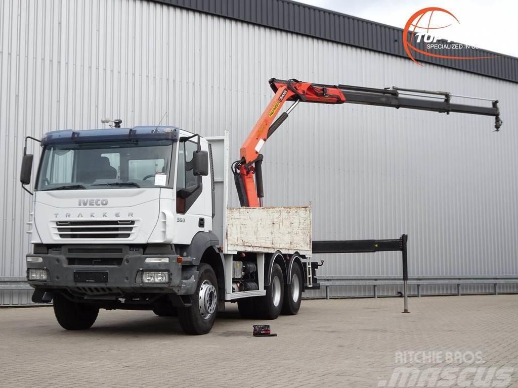 Iveco Trakker 350 6x4 Palfinger 15TM kraan, Crane, Kran