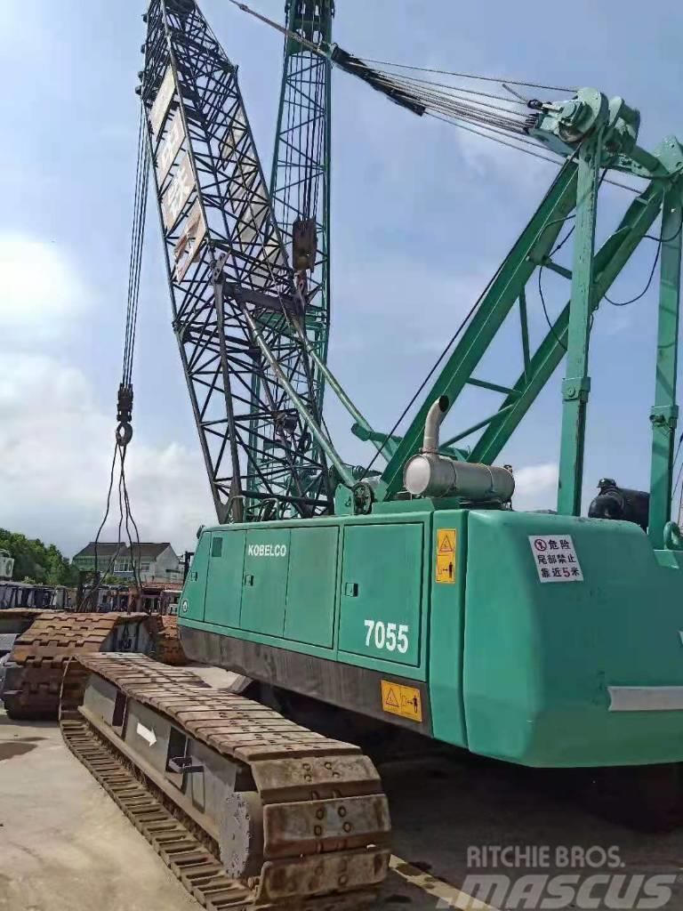 Kobelco 7055(55 ton tracked crane)