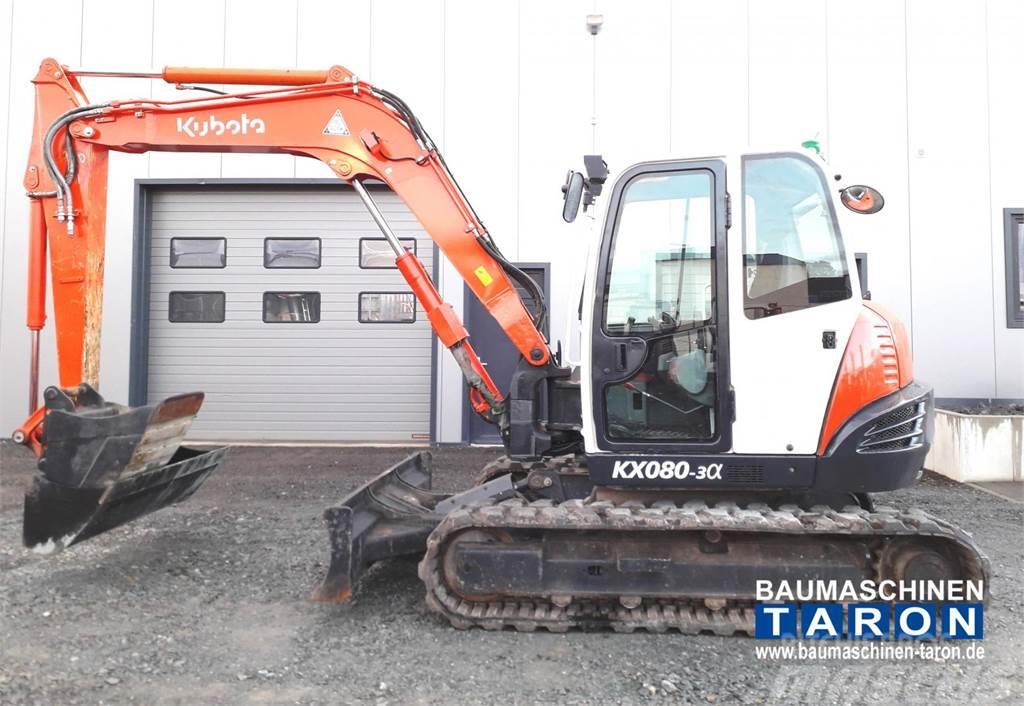 Kubota KX080-3 Alpha (wie ECR88 KX080-4 307 PC80)
