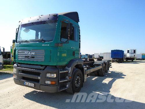 MAN TG 360 A, 2001, Chassier