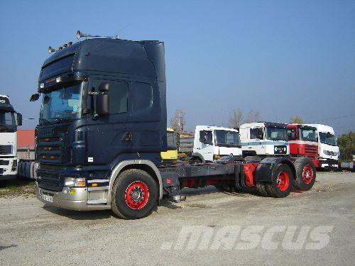 Scania R 420, 2007, Chassier
