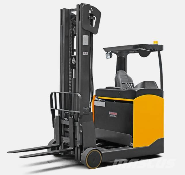 UN Forklift FBRS20 Sit-in Reach Truck with CURTIS Controller
