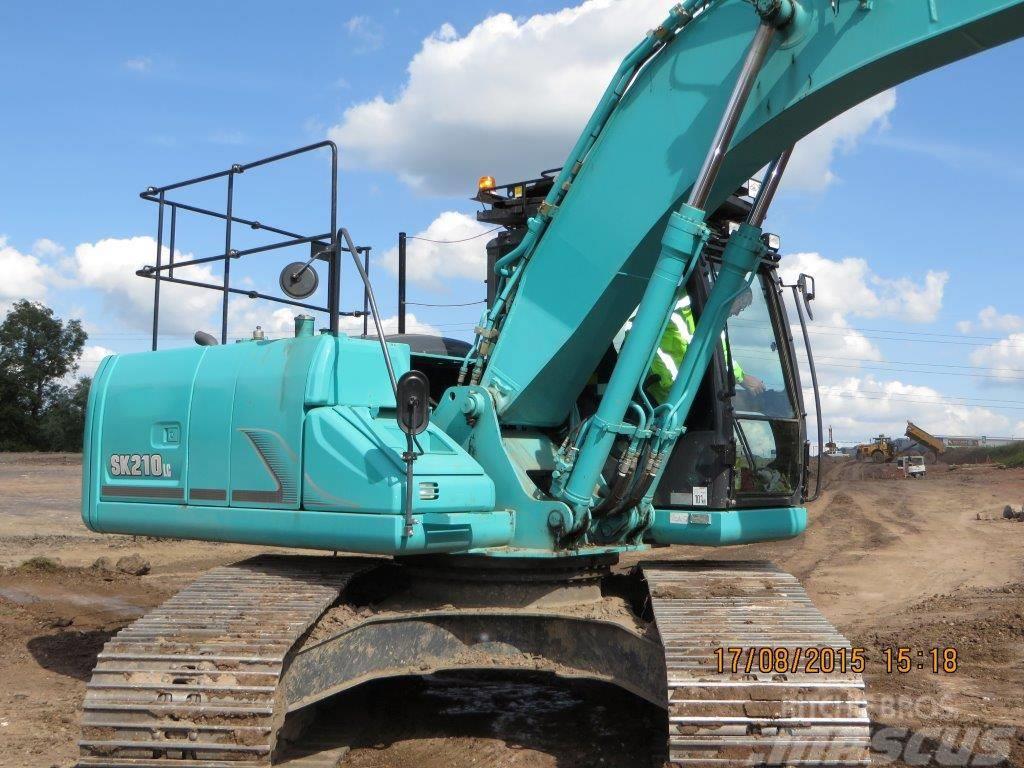 Kobelco SK 210 LC-9, Uthyres