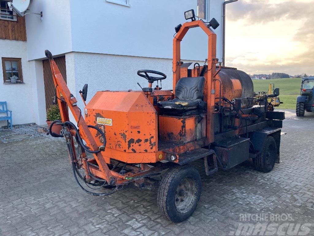 Strassmayr S30 1200 Asphaltspritze Bitumenspritze Sprayer