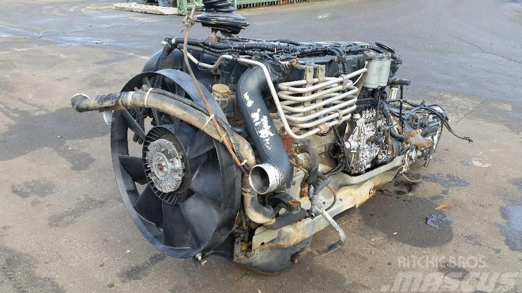 MAN D2866LF31, Motorer