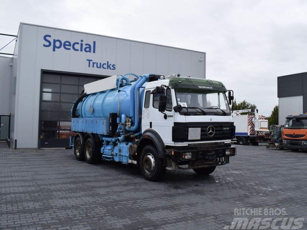 Mercedes-Benz SK 2638 V8 6x4 + Ipsam Kolkenzuiger/Vacuum Truck (