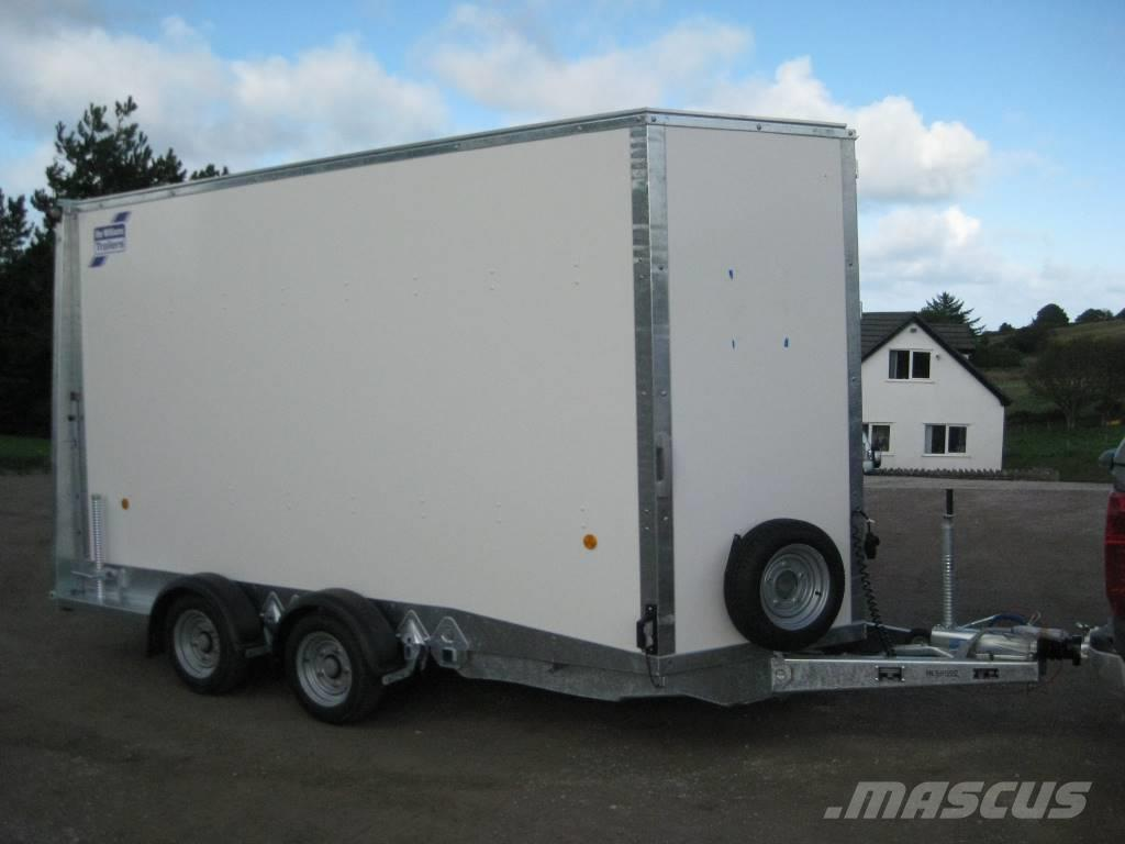 used ifor williams bv126 box body trailers year 2017 for sale mascus usa. Black Bedroom Furniture Sets. Home Design Ideas