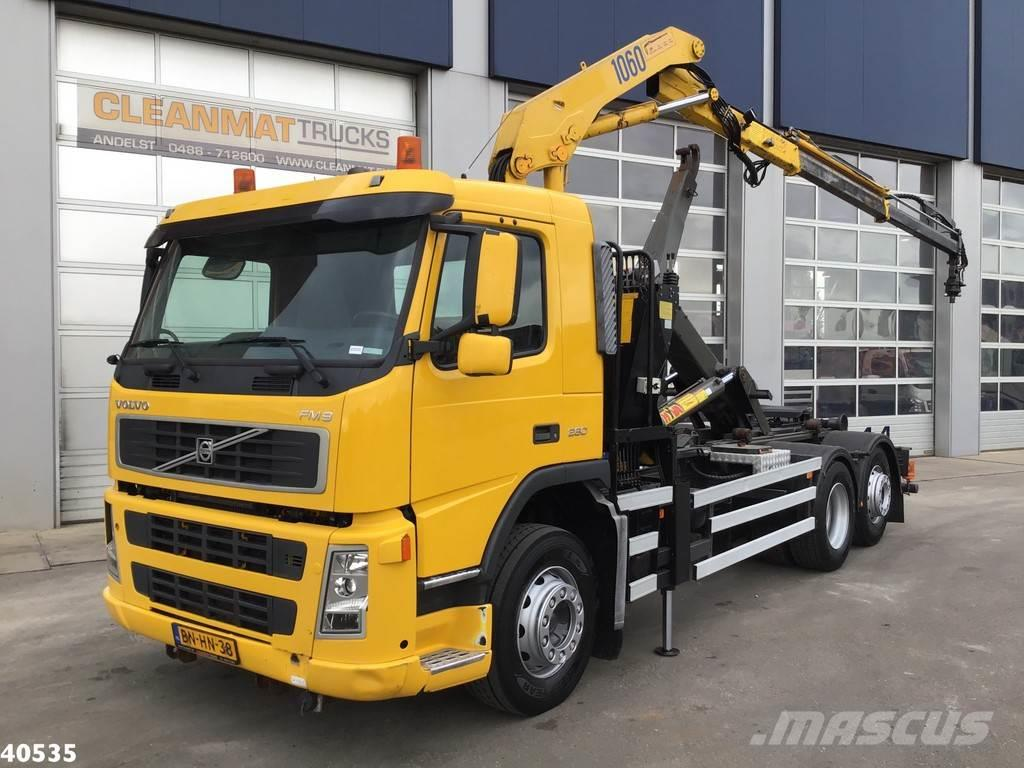 Volvo FM 9 HMF 10 ton/meter laadkraan