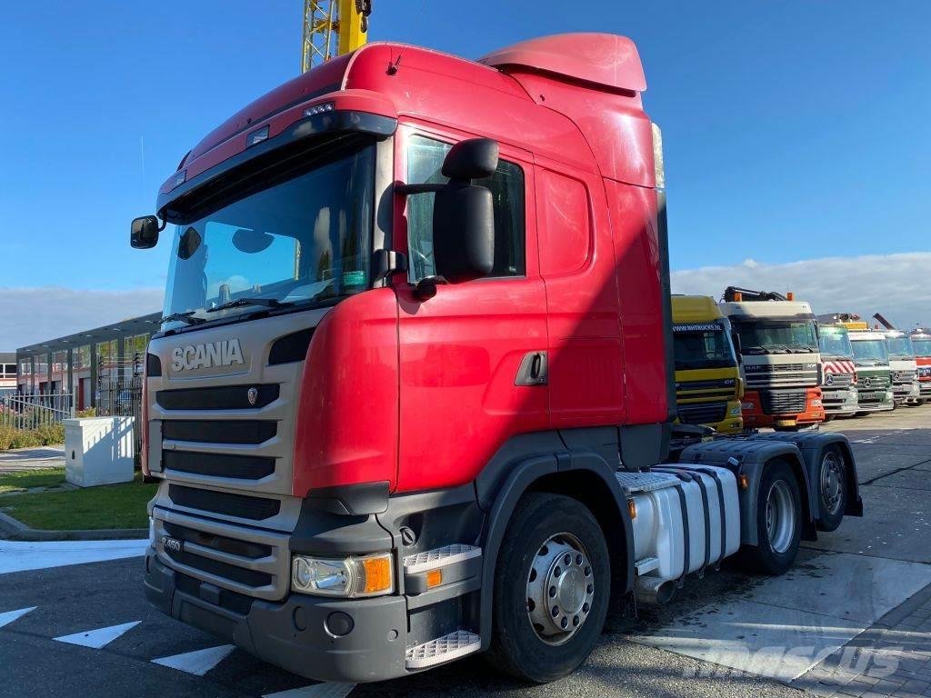 Scania R450 6X2 EURO 6 + AD BLUE